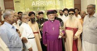 وصول قداسة البطريرك مار كيوركيس الثالث صليوا الى الهند