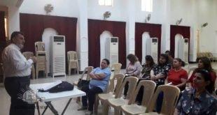نشاطات الاسبوع الثاني للتعليم المسيحي في رعية كنيسة مار كيوركيس الشهيد في كركوك