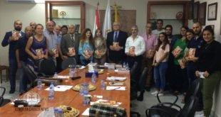 وفد من لجنة شباب  كنيسة المشرق الآشورية في لبنان، يشارك في لقاء في الرابطة السريانية