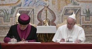البابا فرنسيس يستقبل قداسة البطريرك مار كيوركيس الثالث، بطريرك كنيسة المشرق الآشورية