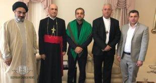 غبطة المطران مار ميلس زيا، يستقبل ممثلي جمعية السلام والعتبة العباسية في سيدني